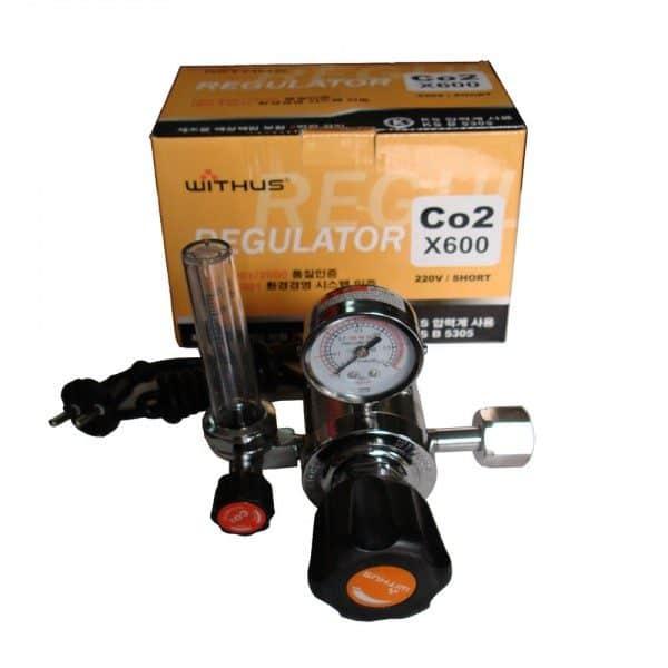 X600 - ĐỒNG HỒ CO2 WITHUS # KOREA 1