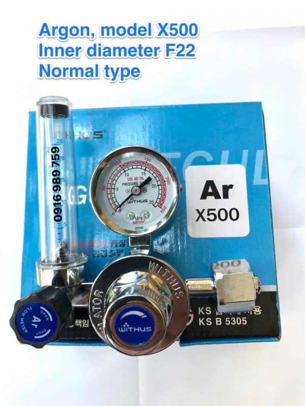 X500 - Đồng hồ Argon - WITHUS - KOREA 1