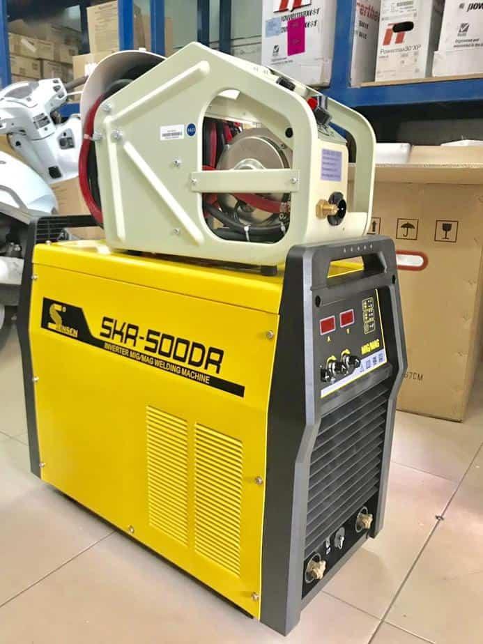 SKR500DR - Máy hàn CO2/MMA Inverter, chất lượng 1