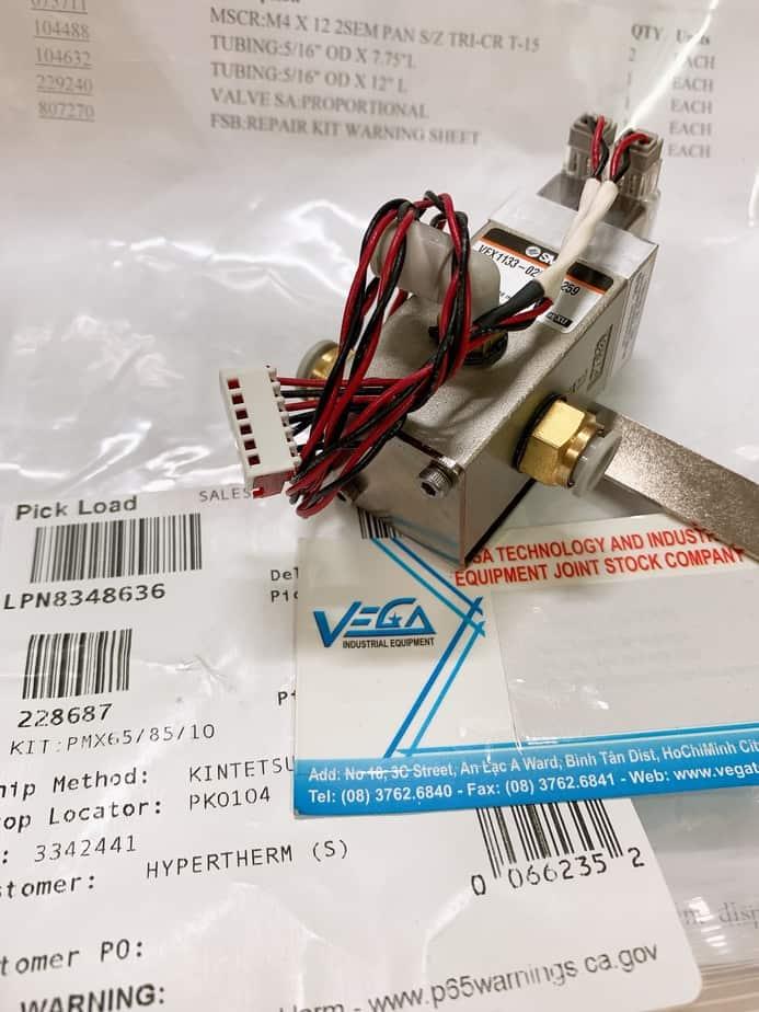 228687 - Van khí dùng cho máy Powermax 65,85,105,125 1