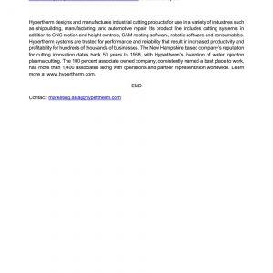 Báo cáo từ hãng Hypertherm USA về các công ty làm hàng giả đã bị bắt - 27/11/2019 3