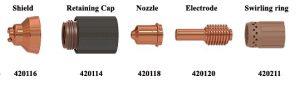 Bộ phụ kiện lắp đầu mỏ cắt plasma của máy Powermax 30XP  | Hypertherm USA 2