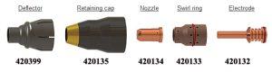 Bộ phụ kiện lắp đầu mỏ cắt plasma Powermax 30AIR | Hypertherm USA 7