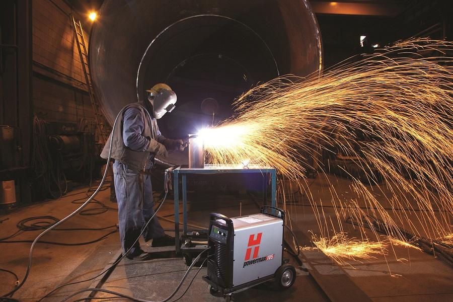 lỗi máy cắt plasma CNC phun lửa