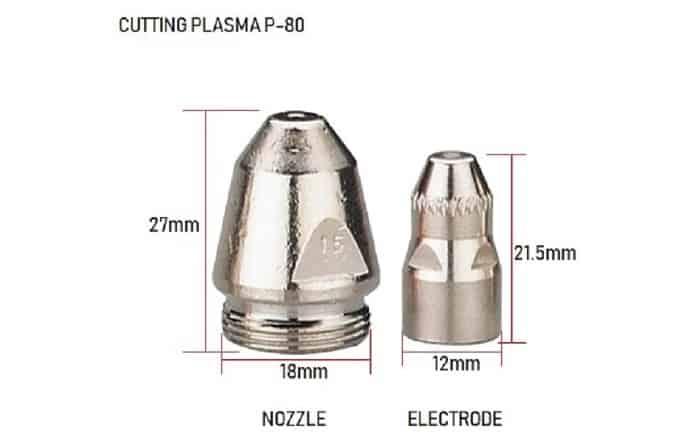 Béc cắt - phụ kiện máy cắt plasma không thể thiếu