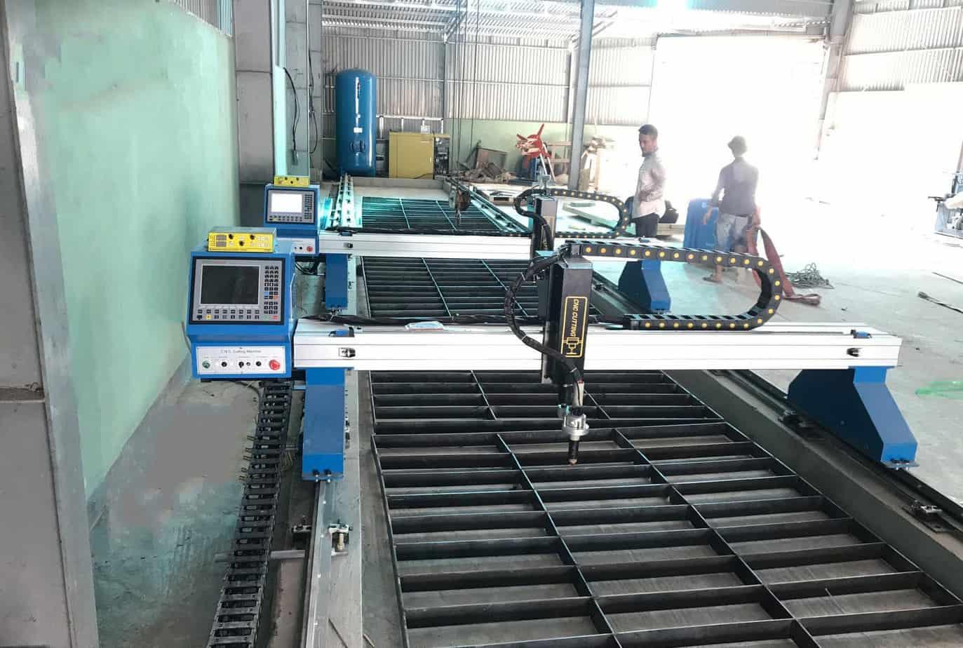Máy cắt plasma CNC 2 ray