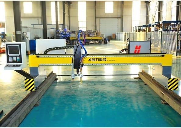 Máy cắt plasma cnc 1 ray và 2 ray