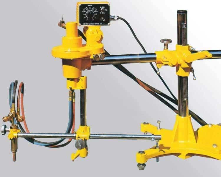 Máy cắt CNC Oxy Gas